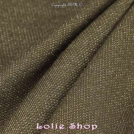 tissus-Maille Sweat Kaki