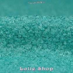 """Lainage """"MINI-BOUCLETTES"""" Uni - Turquoise"""