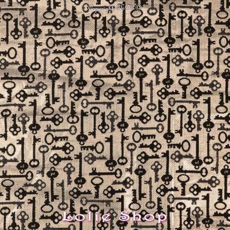 Magnifique tissu Brocart ALBASTOF  - Modèle - Plan Large