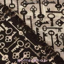 Magnifique Brocart ALBASTOF  - Modèle tissus  - Envers