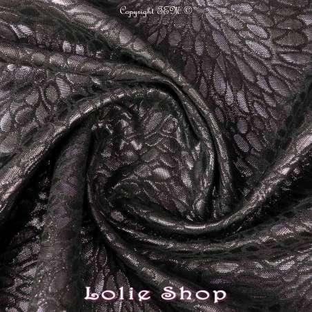 tissus Brocart ALBASTOF  -ECATERINA Ton Violet