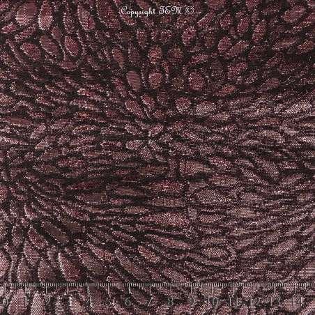 Magnifique Brocart ALBASTOF  - Modèle ECATERINA Ton Fuchsia