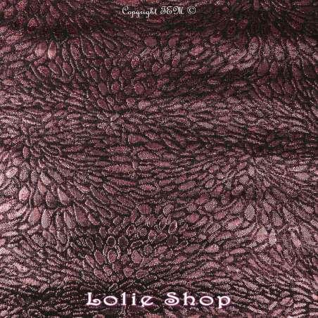 Magnifique tissu Brocart ALBASTOF  - Modèle ECATERINA Ton Fuchsia