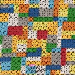 Jersey Coton Imprimé Modèle LEGO