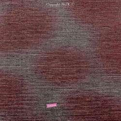 Tissu Maille Plissée Métallisée Degradé Rouge