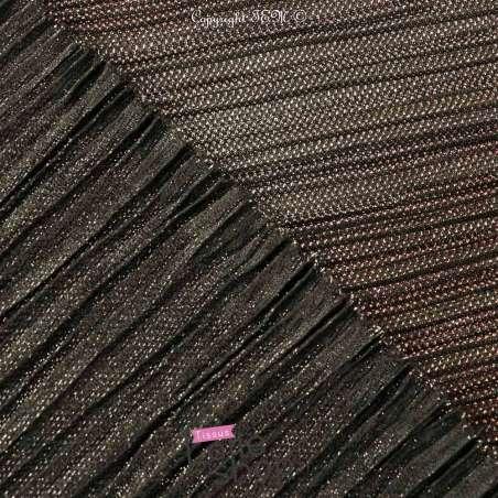 Tissu-Maille Degradé Cuivre