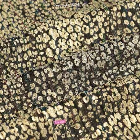 Tissus Maille Plissée Irisée Multicolores