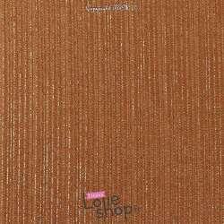 Magnifique tissu Jersey Texturé Modèle ATHENA Ocre Rayures Dorure Or