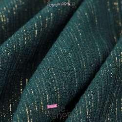 tissus-Jersey Rayures Dorure Or