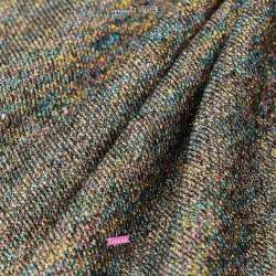Tissu Sweet Molleton Lurex Multicolore