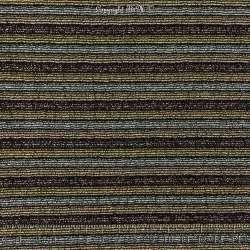 Tissu Maille Bombée à Rayures Pailletées