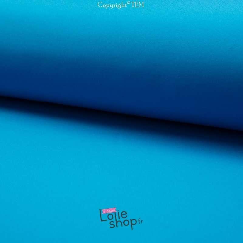 Tissu Softshell pas cher Couleur Bleu