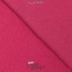 Tissu Sweat Epais Fuchsia envers Molletonné