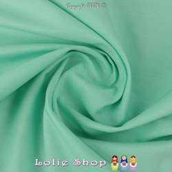 Satin de Coton Couleur Vert D'eau