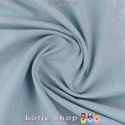 Satin de Coton Couleur Bleu...