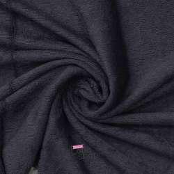 Tissu Éponge Bambou BIO couleur Gris Anthracite
