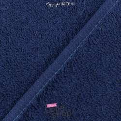 Tissu Éponge Serviette gamme Thalasso oeko tek Couleur Marine