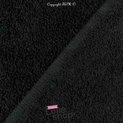 Tissu Éponge Serviette gamme Thalasso oeko tek Couleur noir