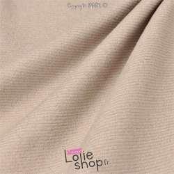 Tissu Velours Milleraies Uni Rose Pale Paillettes
