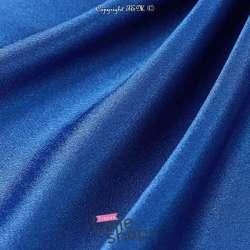 Satin Japonais Haut De Gamme Bleu Roi