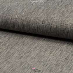 Tissu Lin Coton Fil à Fil Noir