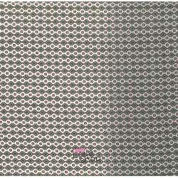 Tissu Viscose Imprimé Losange Graphique Ton Kaki