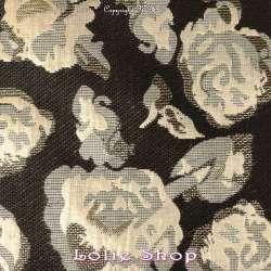 Brocart ALBASTOF - Rosa Ton Dorée