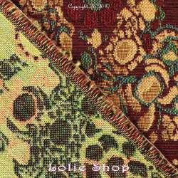Brocart ALBASTOF - Julia Ton Vert Kaki