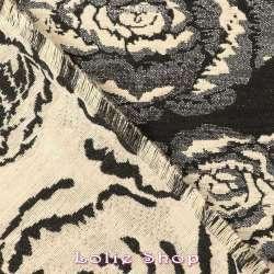 Brocart ALBASTOF - Rosalie Ton Argenté