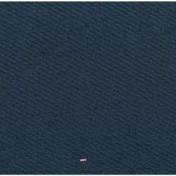 Coupon 3 Mètres Lainage Texturé Uni Couleur Bleu