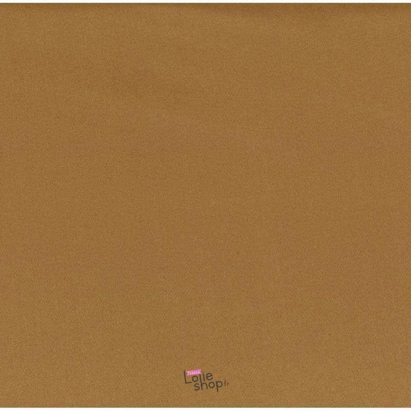 Coupon 3 Mètres Lainage Uni Couleur Camel