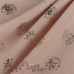 Tissu Crêpe Bubble Métalisé