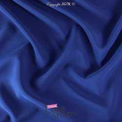 Tissu Double Crêpe Lourd Uni Bleu Roi