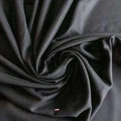 Laine Et Cachemire Uni Couleur Noir