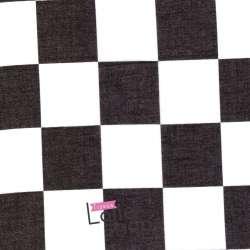 Tissu Voile Polyester Motif à damier