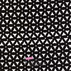 Crêpe Ajouré Triangle - Noir