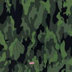Coupon Viscose Imprimé Militaire