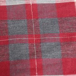 tissu coton motif carreaux...