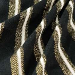 Tissus Jersey Rayures lurex...