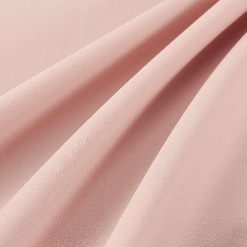 Crêpe Lourd Uni couleur rose nude
