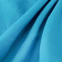 Lin Lavé Couleur turquoise