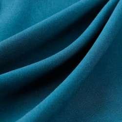 Pashmina uni couleur bleu...
