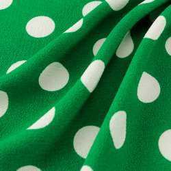Crêpe lyli couleur vert
