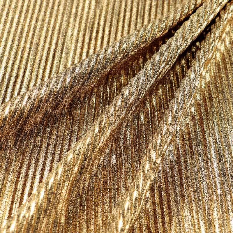Tissu Maille polyester plissé