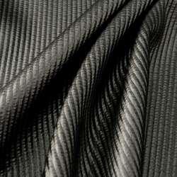 simili cuir uni noir rayée