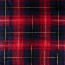 tissus écossais à Carreaux Rouge