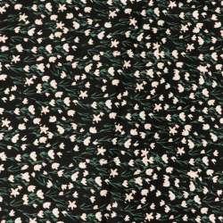Ce tissu Viscose est un tissu léger, aérien, idéal pour se confectionner des hauts chics, élégants et tendances