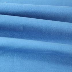 Satin de Coton Couleur bleu roi