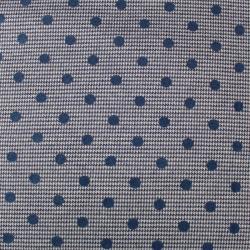 Milano Imprimé pois bleu