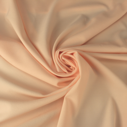 tissu crepe uni couleur nude